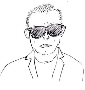 exaggerated sunglasses